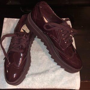 Zara women's Oxford shoes